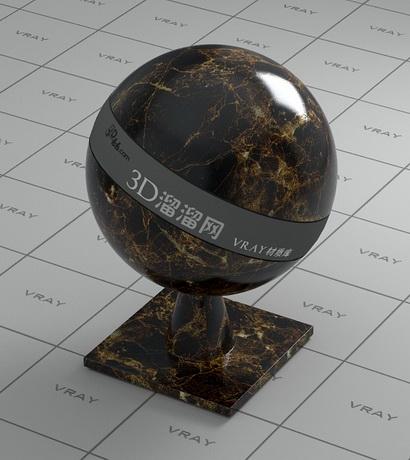 Turkey Emperador dark marble material rendering
