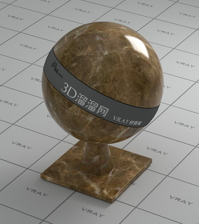 Light brown marble material rendering