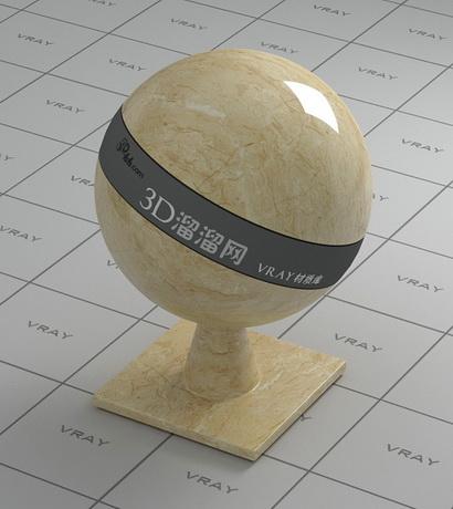 Citatah beige marble material rendering
