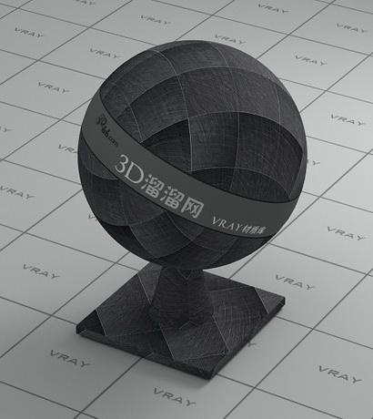 Dark grey quartzite floor tile material rendering