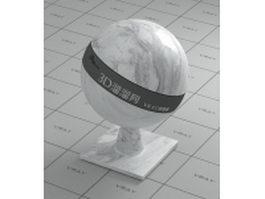 Calaeatta white marble vray material