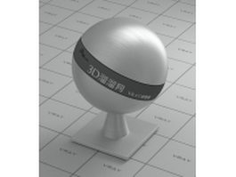 Brushed aluminum surface vray material