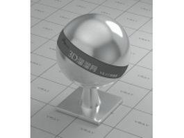 Glossy aluminium foil vray material