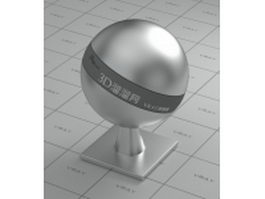 Satin finish stainless steel vray material