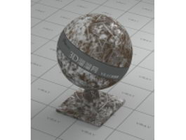 Scratch metal vray material