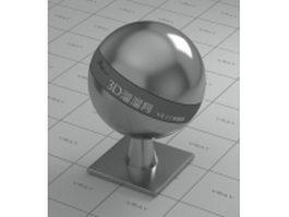 Reflective Bumpy Metal vray material