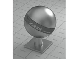 Chromium plated vray material