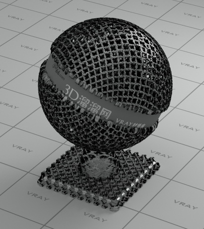 Iron Chainmail material rendering