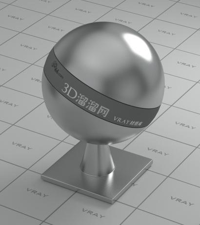 Bullet head metal material rendering