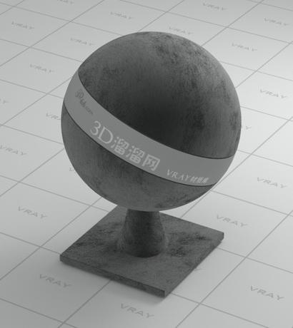 Coarse dark grey cloth material rendering