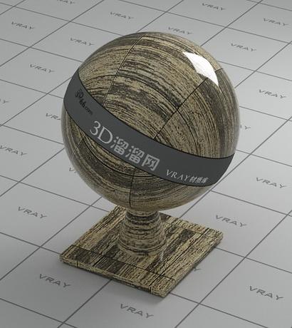 Artificial marble floor tile material rendering