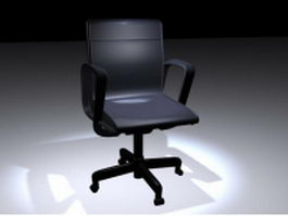 Office work chair 3d model preview