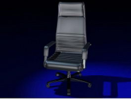 High-back boss chair 3d preview