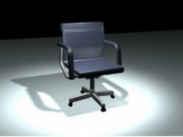 Revolving steno chair 3d preview