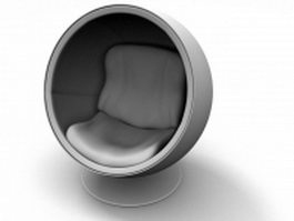 Eero Aarnio Ball Chair 3d preview