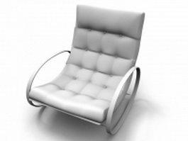 Modern rocking chair 3d preview