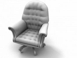 Revolving armchair 3d preview
