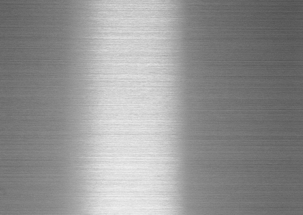 Brushed steel case texture