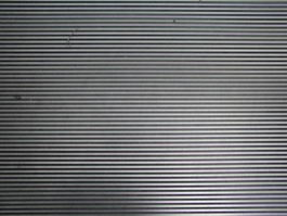 Aluminum grill texture
