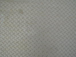 Embossed pattern steel plate texture