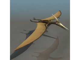 Adult Pteranodon 3d model preview