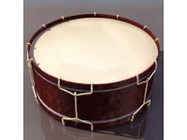 Brazilian frame drum 3d preview