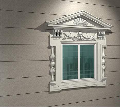 European sliding window 3d rendering