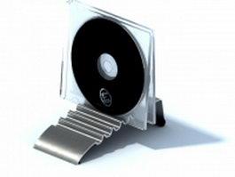 Desk cd holder rack 3d model preview