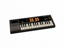 Sintez digital keyboard 3d model preview