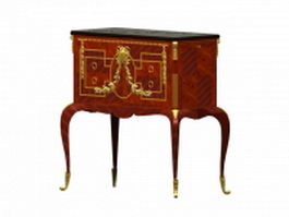 Classical drinks cabinet 3d preview