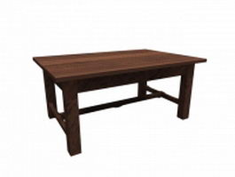Classical folk table 3d preview
