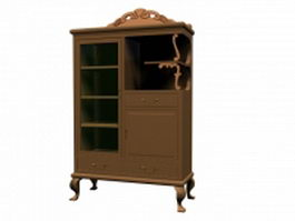 Classical cupboard 3d preview