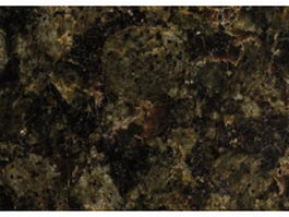 Blackish green granite surface texture