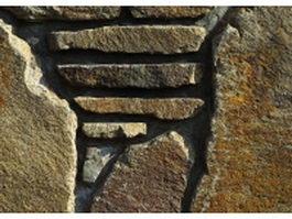 Art decorative stone wall texture