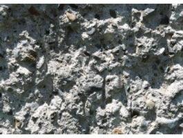 Rough limestone wall texture