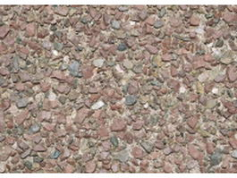 Red gravel ground texture