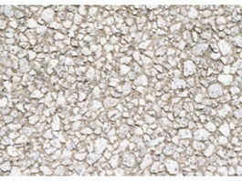 White gravel ground cover texture