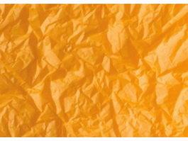 Golden crumpled paper texture