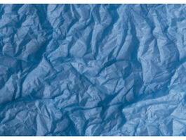Royal blue crumpled paper texture