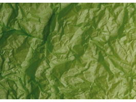 Yellow green crumpled paper texture