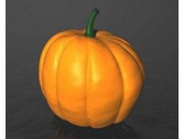 Big pumpkin 3d model preview
