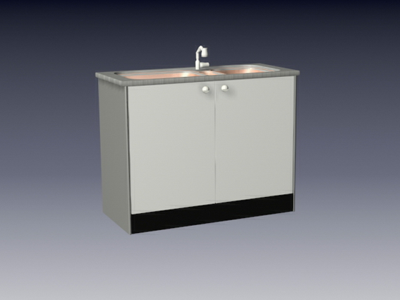 bathroom sinks with cabinets sink kitchen cabinet 3d model 3dsmax 3ds files free 16652