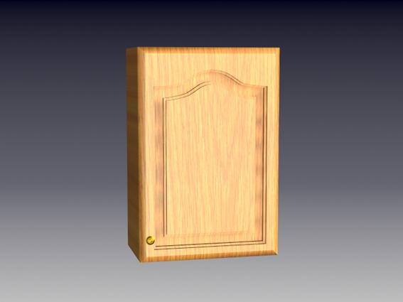 Small cupboard 3d rendering
