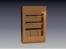 Wall-mounted cupboard 3d preview