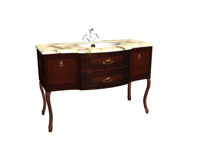 bathroom tiling ideas pictures antique bath vanity cabinet 3d model 3ds files free 16899