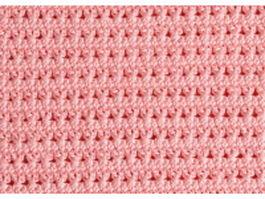 Pink knitting rug texture