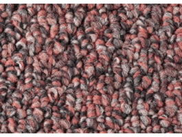 Red and gray knitting rug textile closeup texture