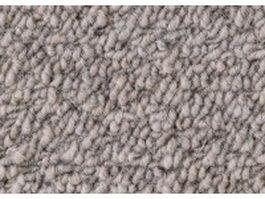 Loop pile gray wool carpet texture