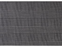 Black and white plaid fabric texture