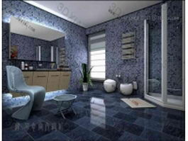 Bathroom design ideas 3d preview